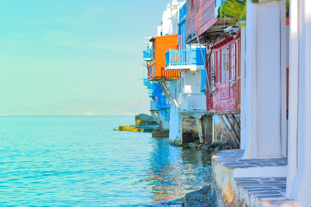 Summer Trip to Athens Mykonos and Santorini