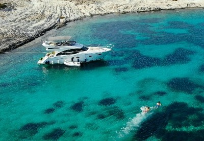 One Day Cruise to Antiparos with BBQ