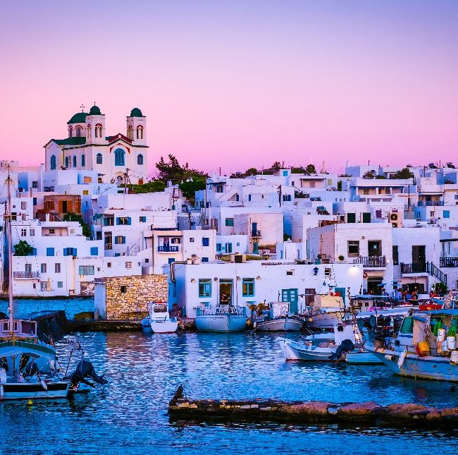Paros - Full day bus and boat tour